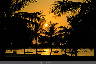 Sunset at Amaya Beach Hotel Passikudha