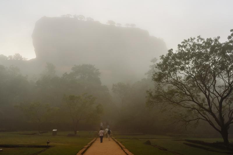 Sigiriya at Sunrise