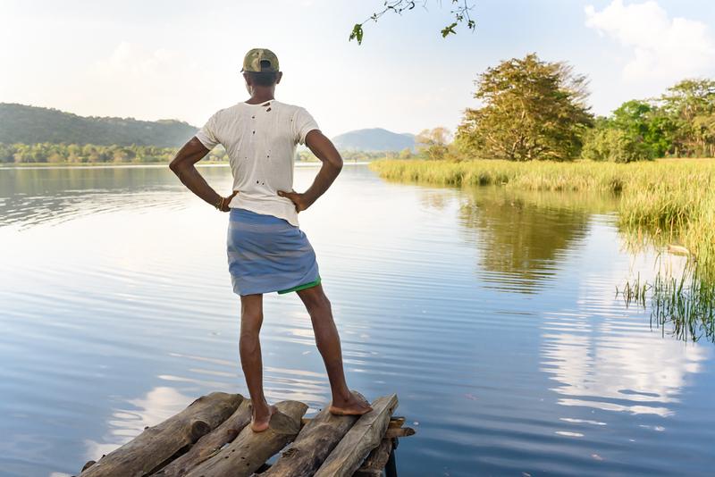 Enjoying the Lake View