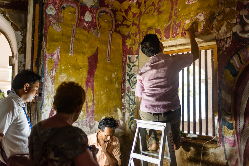 Restoring the Temple Paintings