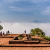 Ruins at the Top of Sigiriya