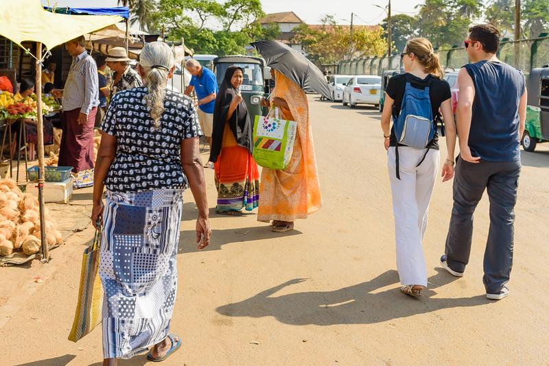 Many Fashions at the Market