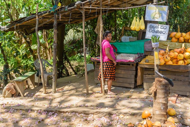 Selling Jackfruit