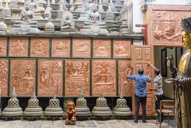 Repairing the Temple Door