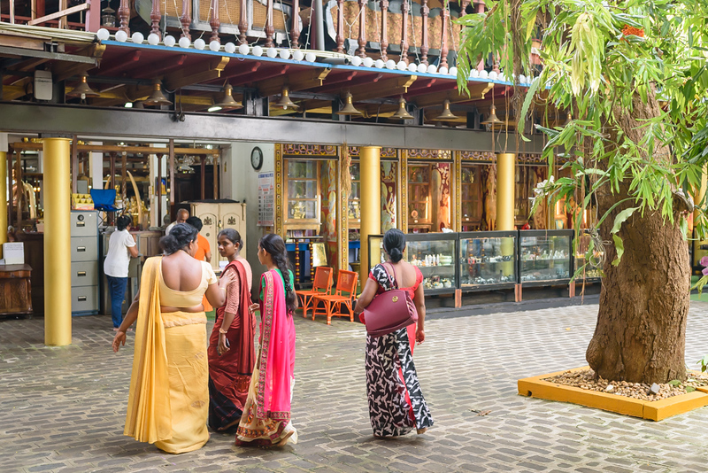 Women at the Temple