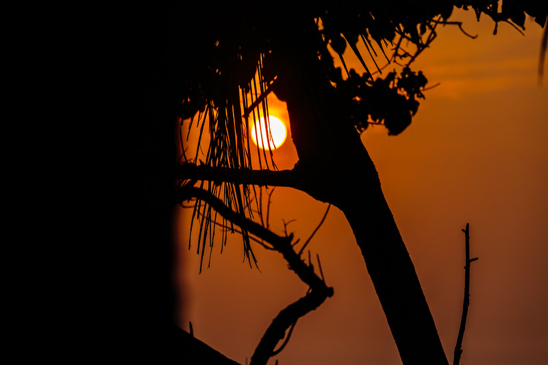 Sunset from Unawatuna