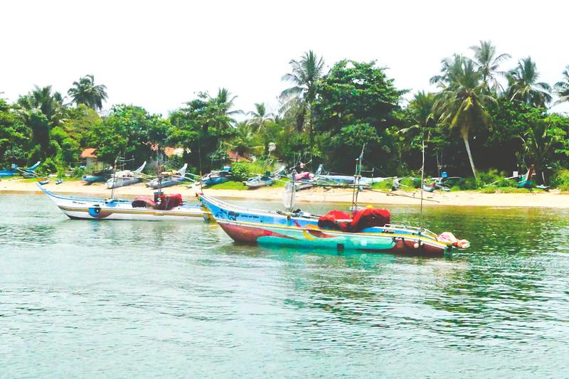 Mirissa harbour