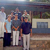 Group in front of Talawila Bungalow