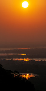 Sunset near Anurdhapura, 2013