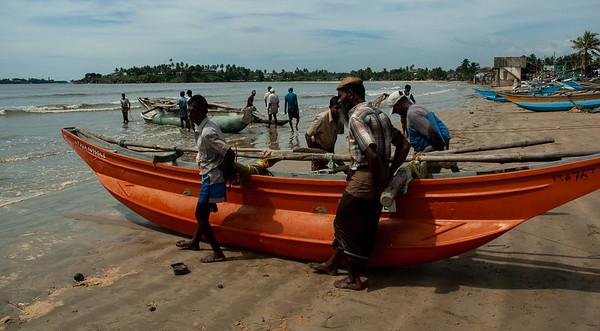 Fishermen near Galle, Sri Lanka, 2007