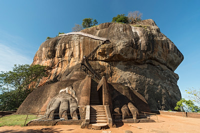 Lion Gate, Sigiriya Rock