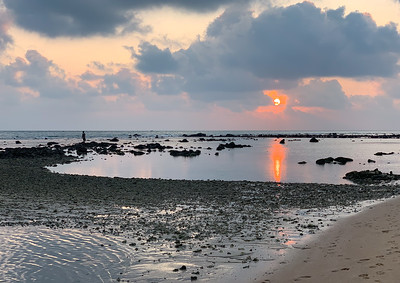 Sunrise at Point Pedro, Jaffna