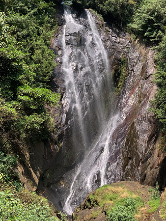 Waterfall near Nallathaniya, Sri Lanka