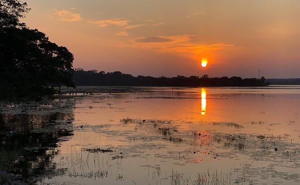 Sunset in Anuradhapura