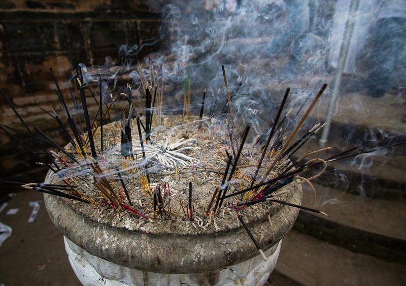 Incense sticks, Kataragama