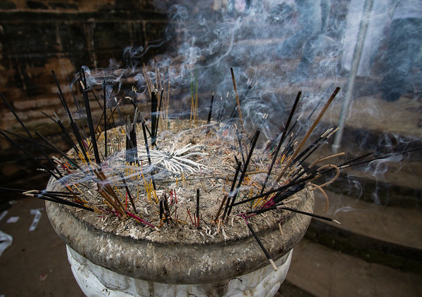Incense sticks, Kataragama