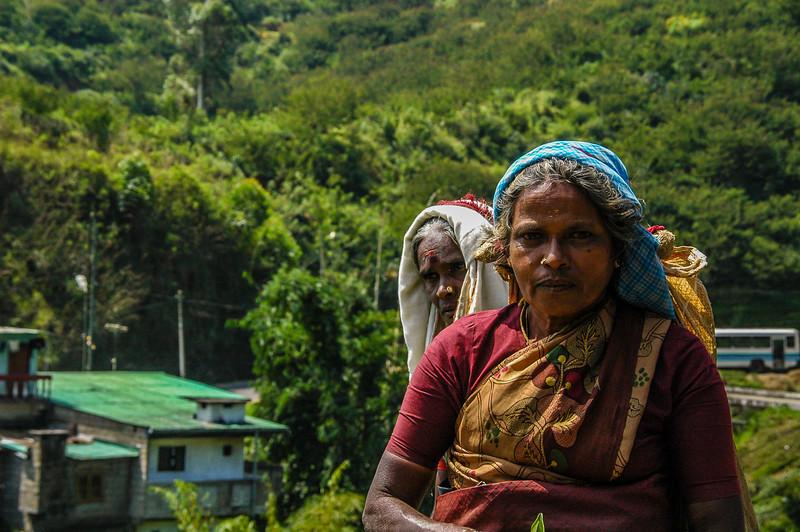 On the road in Sri Lanka