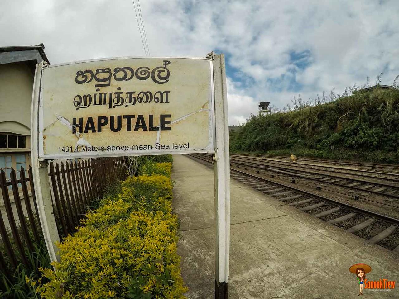Haputale ฮาปูตาเล Srilanka ศรีลังกา