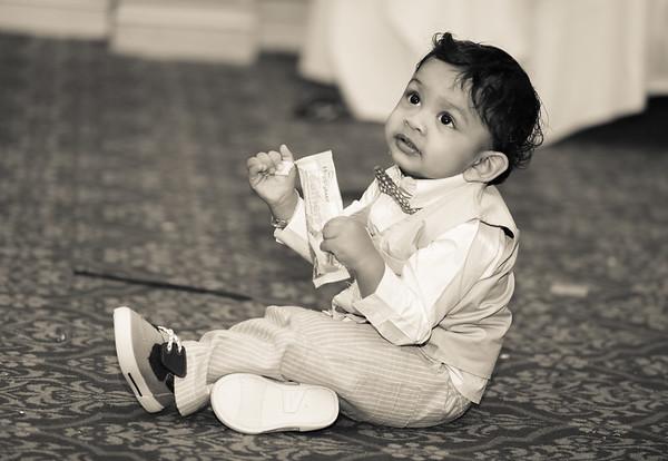 Srihan 1st Birthday Propshoot