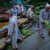 Floating vegetable market. Dal Lake.