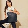 """Mayfair Luxe, Harewood 15"""", Totepack, Dark Navy Blazer, 120-413-BLZ, Lifestyle Model Female, 1MB"""