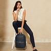 """Mayfair Luxe, Beaux 15"""", Backpack, Dark Navy Blazer, 120-401-BLZ, Lifestyle Model Female, 1MB"""