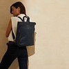 "Mayfair Luxe, Harewood 15"", Totepack, Dark Navy Blazer, 120-413-BLZ, Lifestyle Model Female, 1MB"