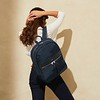 "Mayfair, Beauchamp 15"", Backpack, Dark Navy Blazer, 119-419-BLZ, Lifestyle Model Female, 1MB"