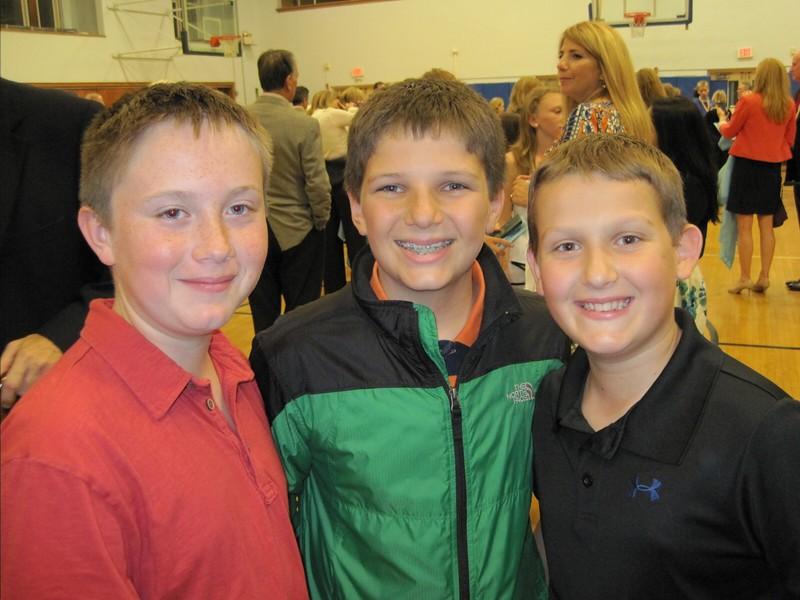 obrien murphy sumberac 5th grade at graduation