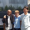 Duane with Buddies_911 Memorial (Gr 7)