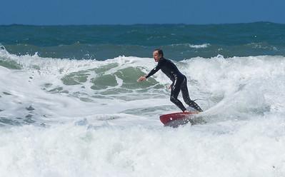 St Agnes surfers