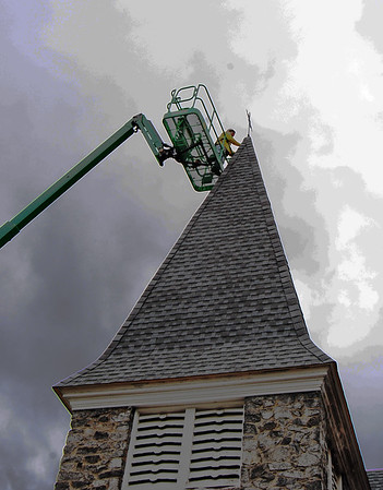 St. Andrew,s Church Ayer roof work