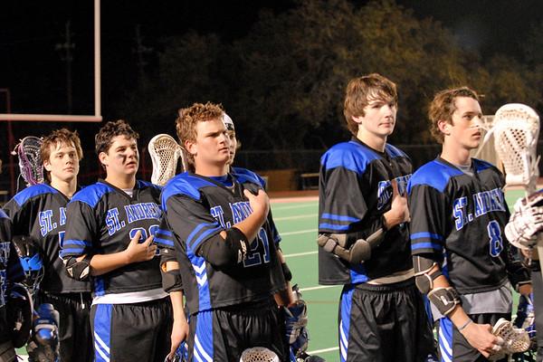 Varsity Boys Lacrosse 2007