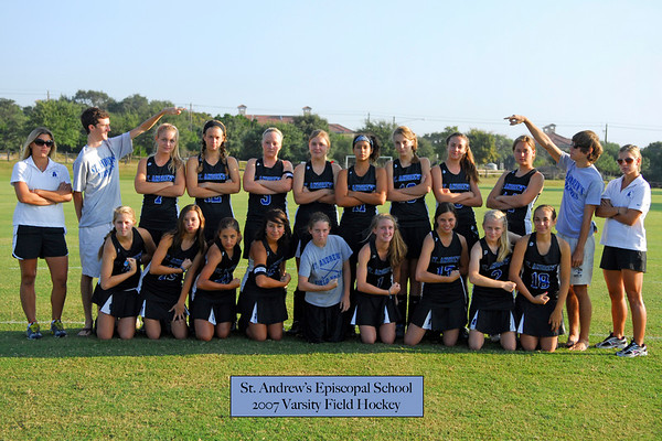 Field Hockey team pics