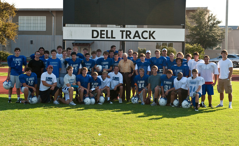 team with Coach Akers