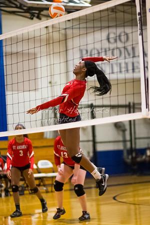 St. Andrews Episcopal School Varsity Volleyball at Potomac
