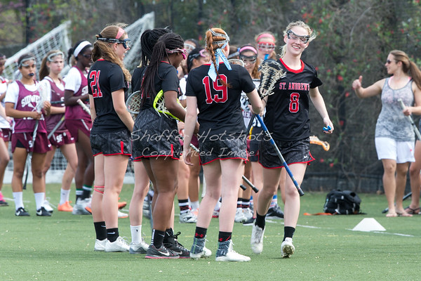 St.  Andrews Episcopal School Girl Varsity Lacrosse at Sidwell Friends