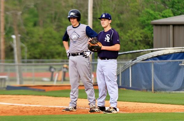 2018-04-09 Saints 9th Grade Baseball