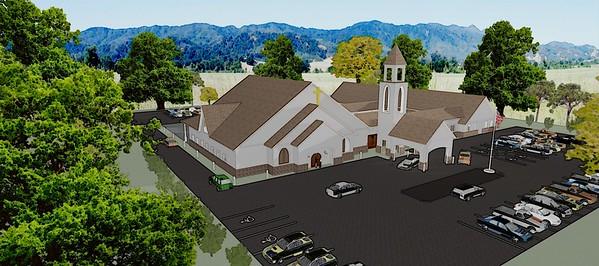 St. Anna's Catholic Church - Monroe, Ga