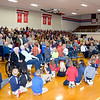A large crowd attended the St. Anthony Grade School Veterans Day program in Goff gymnasium Friday morning. Charles Mills photo