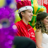 Drew Gibson and Gillian Erickson were crowned king and queen at St. Anthony High School homecoming game Friday.<br /> <br /> Keith Stewart photo