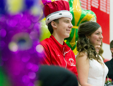 St. Anthony High School Homecoming King and Queen 2016
