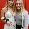 Two years after her sister Carson (right) was named homecoming queen, Kendall (left) was named St. Anthony homecoming queen at The Enlow Center Tuesday evening. Chet Piotrowski Jr. photo/Piotrowski Studios
