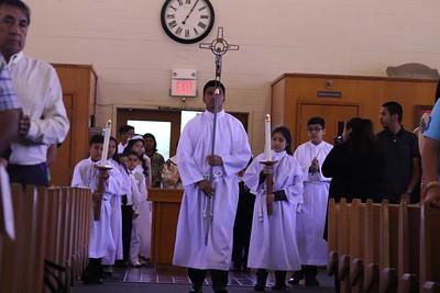Spanish Mass First Communion
