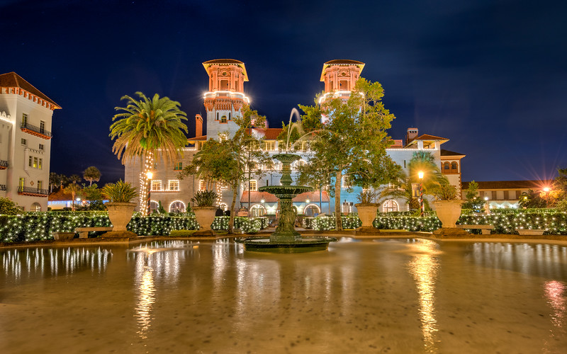 St. Augustine - Lightner Museum at Night