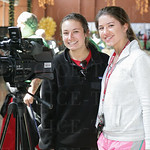 Kristen Smith and Lilli Nelson of duPont Manuel\'s AM program.