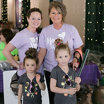 Jen Heckel, Reese and Astrid, and Sandy Howell.