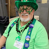 The annual St. Baldrick's event has held at the Pepperell Fire Department on Park Street on Wednesday night in Pepperell. Participants donate money to get people to cut their hair short to raise money for childhood cancer research. Phil Durno always dresses up to help volunteer at this annual event. He said he has been helping since the beginning 16 years ago. SENTINEL & ENTERPRISE/JOHN LOVE