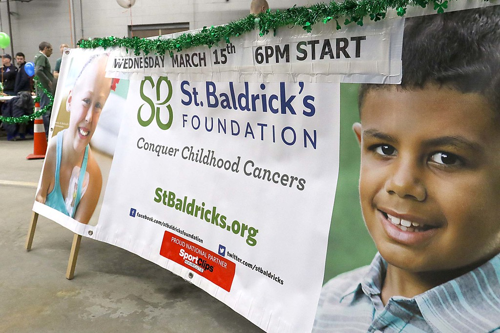. The 16th annual St. Baldrick\'s fundraiser was held by the Pepperell Fire Department on Wednesday night, March 14, 2018. This years event raised $14,754 dollars before the event but still had contributions come in during the event.  SENTINEL & ENTERPRISE/JOHN LOVE