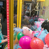 St. Bernard's Elementary School's Holiday Fair Saturday, Nov. 23, 2019. Trying to win a prize from the claw machine they had at the fair is Zoe Bilotta, 8. SENTINEL & ENTERPRISE/JOHN LOVE
